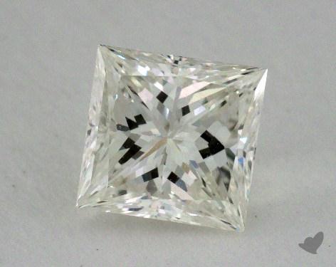 0.82 Carat K-VS2 Excellent Cut Princess Diamond