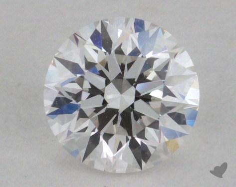 0.50 Carat F-IF Very Good Cut Round Diamond