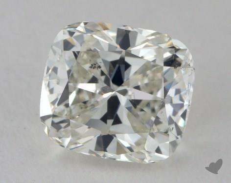 1.10 Carat J-SI1 Cushion Cut Diamond