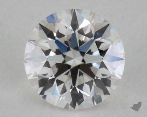 0.40 Carat F-VVS2 Very Good Cut Round Diamond