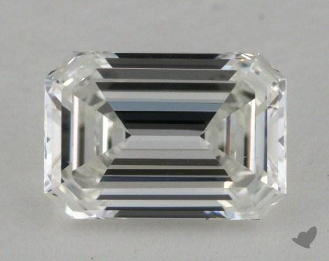 0.98 Carat F-SI1 Emerald Cut Diamond