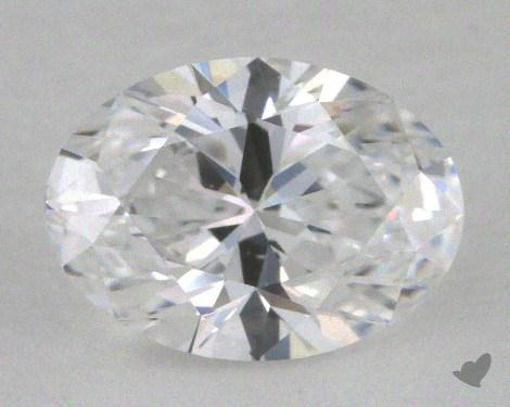 0.85 Carat D-IF Oval Cut Diamond
