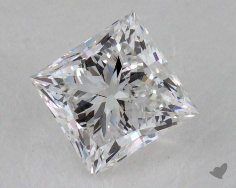 1.00 Carat F-I1 Very Good Cut Princess Diamond