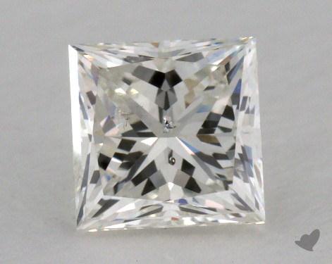 0.70 Carat J-SI2 Very Good Cut Princess Diamond