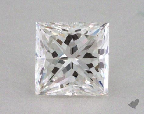 0.72 Carat G-VS1 Ideal Cut Princess Diamond