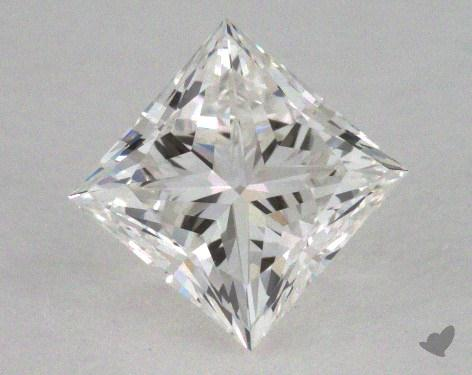 0.73 Carat G-VVS2 Ideal Cut Princess Diamond