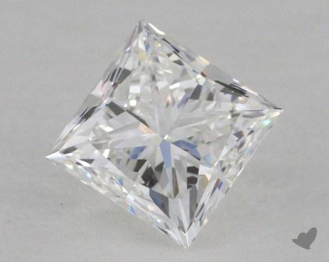 0.74 Carat D-VS1 Princess Cut  Diamond