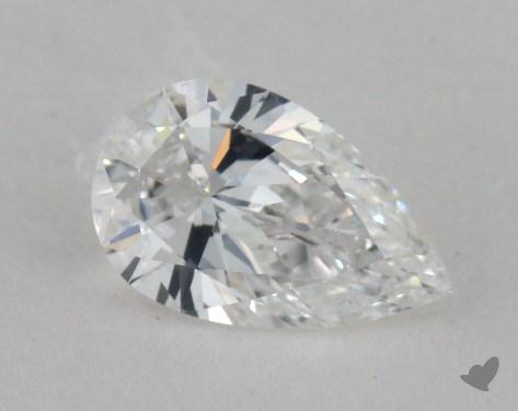 0.36 Carat E-SI2 Pear Shaped  Diamond