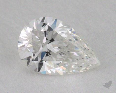 0.41 Carat F-SI1 Pear Shaped  Diamond