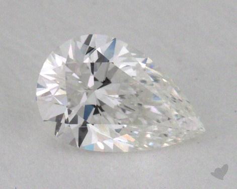 0.41 Carat F-SI1 Pear Shape Diamond