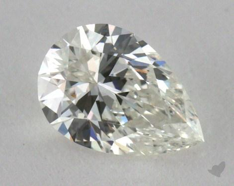 0.47 Carat G-VVS1 Pear Cut Diamond
