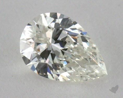 0.47 Carat G-VVS1 Pear Shape Diamond