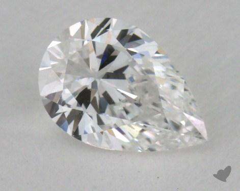 0.50 Carat F-SI1 Pear Shape Diamond