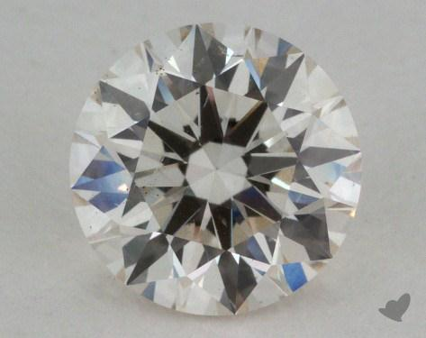 1.02 Carat J-SI1 Excellent Cut Round Diamond