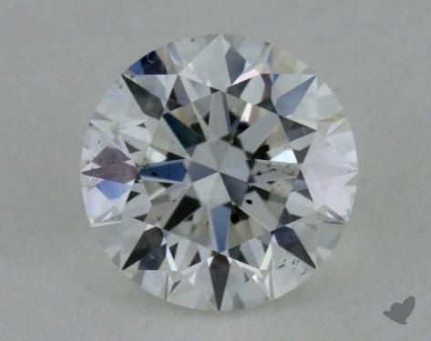 0.71 Carat F-SI1 Excellent Cut Round Diamond