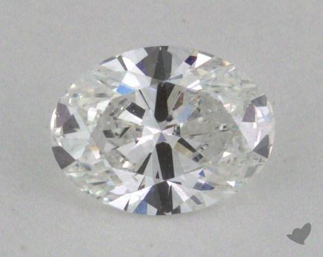 0.41 Carat E-SI1 Oval Cut  Diamond