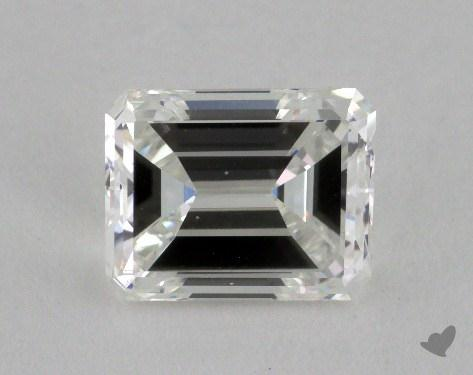 1.73 Carat F-VS1 Emerald Cut Diamond