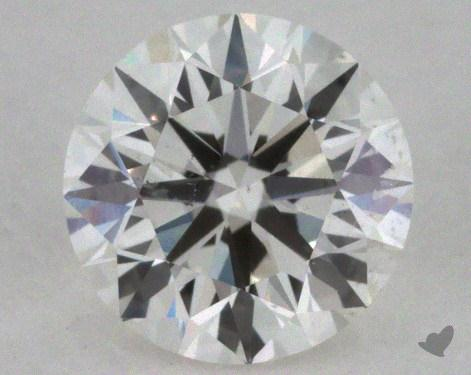 0.50 Carat H-SI1 Excellent Cut Round Diamond 