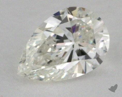 0.55 Carat H-SI1 Pear Shape Diamond