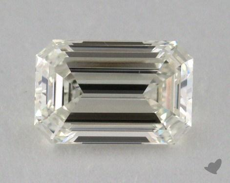 1.05 Carat K-VVS1 Emerald Cut Diamond