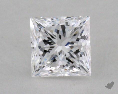 0.52 Carat D-VS2 Princess Cut  Diamond