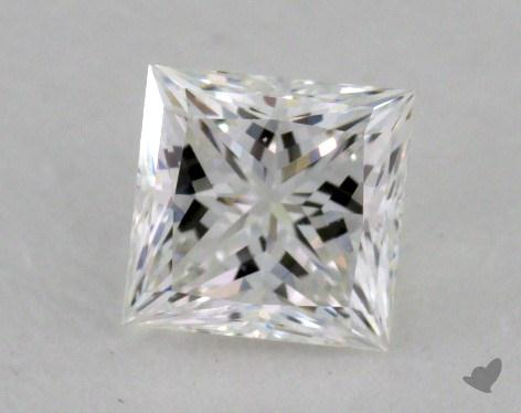 0.51 Carat F-VVS2 Ideal Cut Princess Diamond