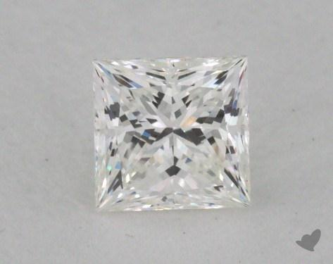 0.54 Carat G-VVS2 Ideal Cut Princess Diamond