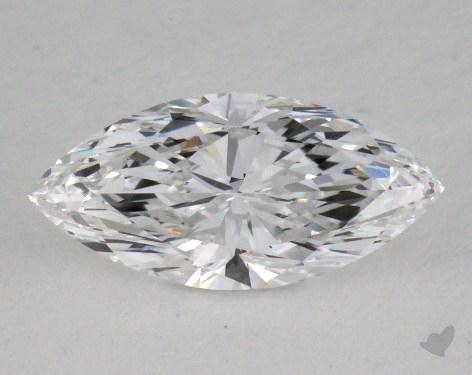 0.85 Carat D-VS1 Marquise Cut  Diamond