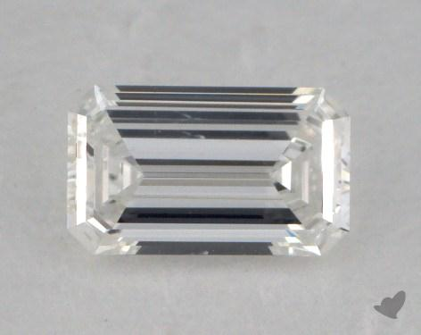 0.60 Carat E-SI1 Emerald Cut Diamond