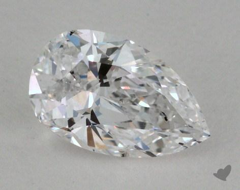 0.64 Carat E-SI2 Pear Shaped  Diamond