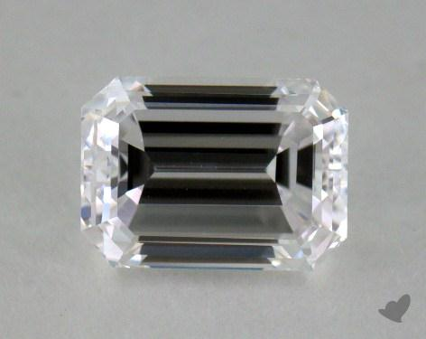 0.55 Carat D-SI1 Emerald Cut Diamond