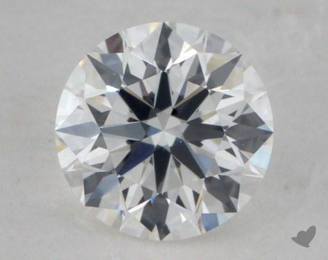 0.59 Carat F-VS2 True Hearts<sup>TM</sup> Ideal Diamond