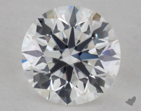 0.51 Carat F-IF True Hearts<sup>TM</sup> Ideal Diamond
