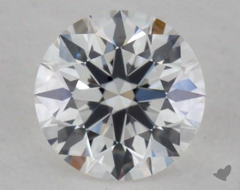 0.51 Carat E-VVS1 True Hearts<sup>TM</sup> Ideal Diamond