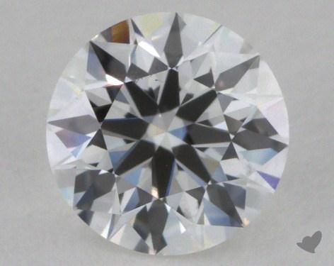 0.61 Carat E-VS2  True Hearts<sup>TM</sup> Ideal  Diamond
