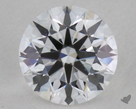 0.59 Carat D-VS2 True Hearts<sup>TM</sup> Ideal Diamond