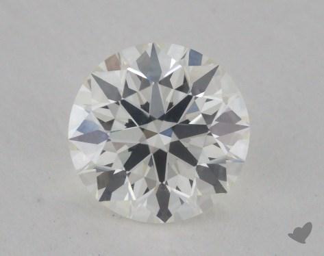 0.78 Carat I-VVS1 True Hearts<sup>TM</sup> Ideal Diamond