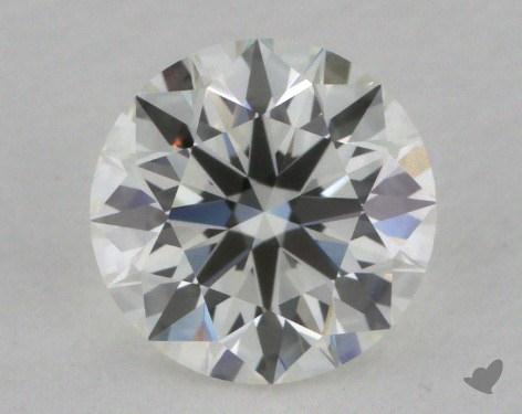 0.74 Carat G-VVS1 True Hearts<sup>TM</sup> Ideal Diamond