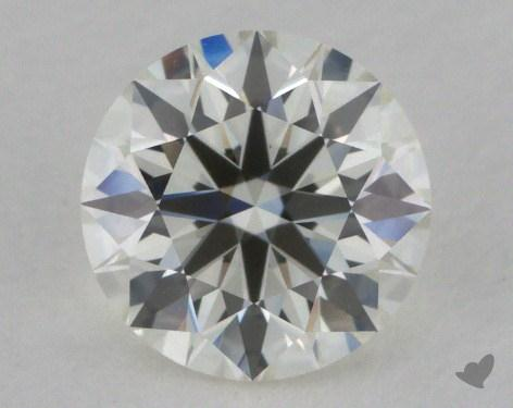 0.80 Carat J-VVS2 True Hearts<sup>TM</sup> Ideal Diamond