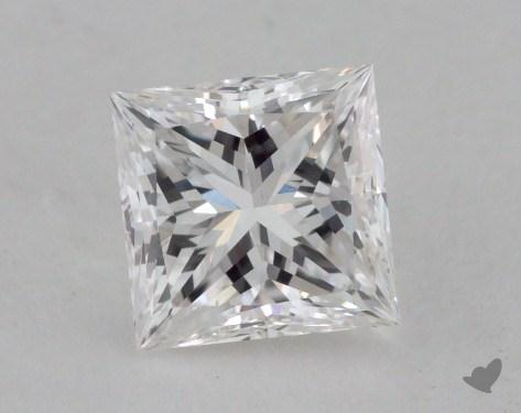 1.02 Carat F-VS2 Ideal Cut Princess Diamond
