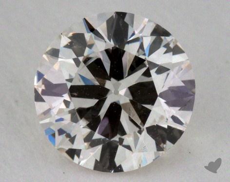 1.00 Carat J-SI1 Good Cut Round Diamond