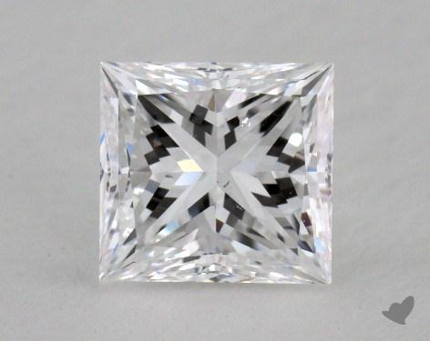 1.50 Carat D-SI1 Very Good Cut Princess Diamond