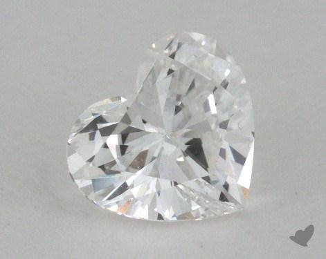 1.00 Carat D-SI1 Heart Shaped  Diamond