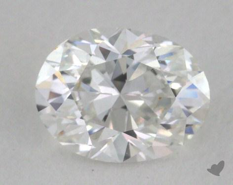 0.75 Carat E-VVS2 Oval Cut  Diamond