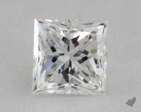 0.56 Carat F-VVS2 Very Good Cut Princess Diamond