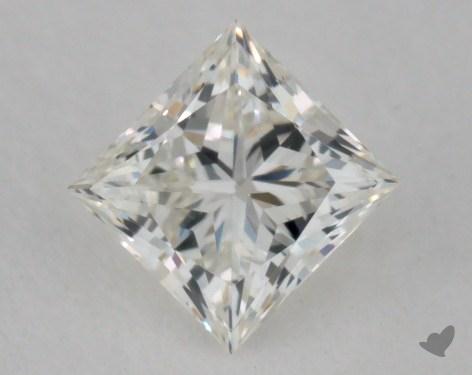 0.33 Carat I-VS1 Ideal Cut Princess Diamond