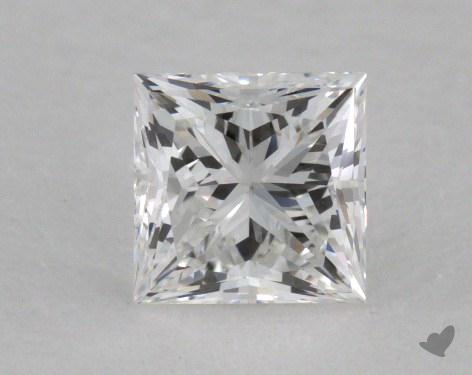 0.49 Carat E-IF Ideal Cut Princess Diamond