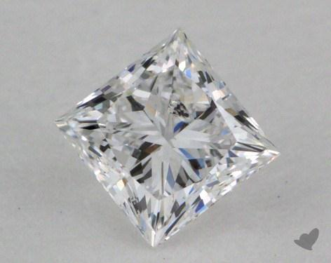 0.40 Carat D-I1 Princess Cut  Diamond