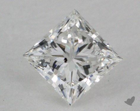 0.42 Carat D-SI2 Ideal Cut Princess Diamond