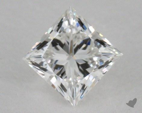 0.49 Carat F-VVS2 Ideal Cut Princess Diamond